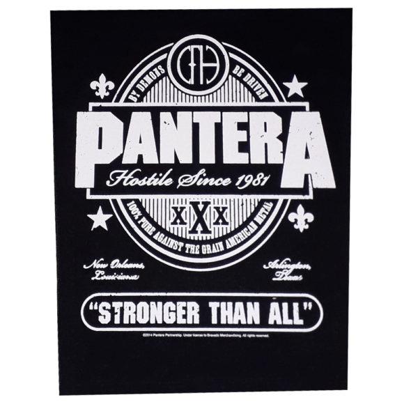 Pantera - Ryggmärke - Stronger That All