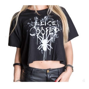 Alice Cooper - Dam T-shirt - Spider Splatter - Small