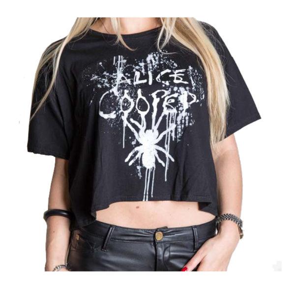 Alice Cooper - Dam T-shirt - Spider Splatter - Small