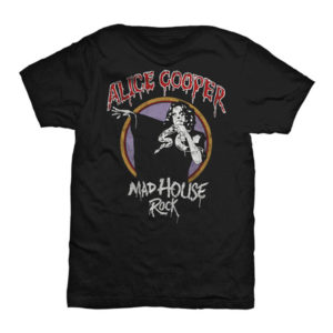 Alice Cooper - T-shirt - Mad House Rock - Small