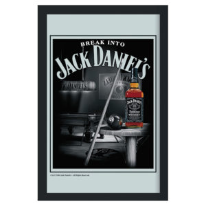 Jack Daniel's - Pool table - Spegeltavla / Pubspegel / Barspegel