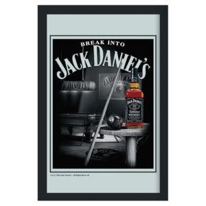Jack Daniel's - Pool table - Spegeltavla / Pubspegel / Barspegel