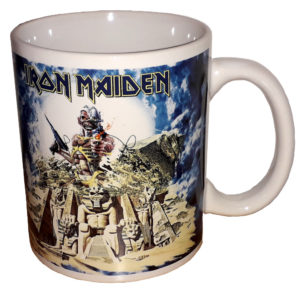 Iron Maiden - Mugg - Somewhere Back in Time