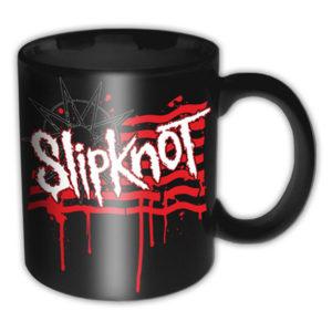 Slipknot - Mugg - Dripping Flag & Logo
