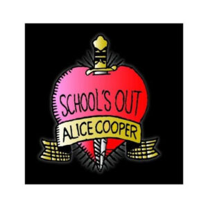 Alice Cooper - Vykort - School's Out