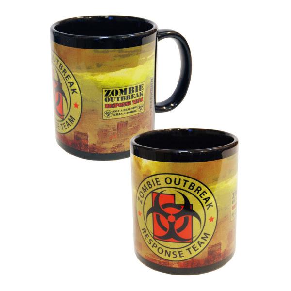 Darkside - Zombie Outbreak Yellow City - Mugg