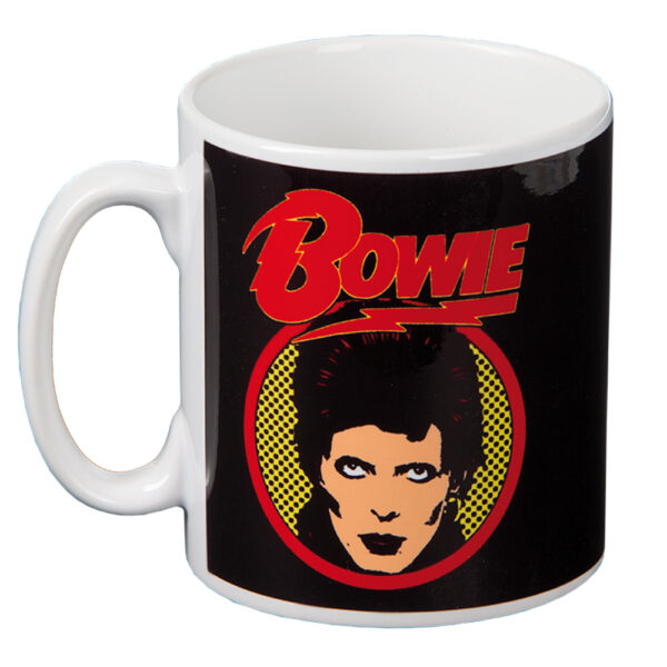 David Bowie - Mugg - Flash Logo