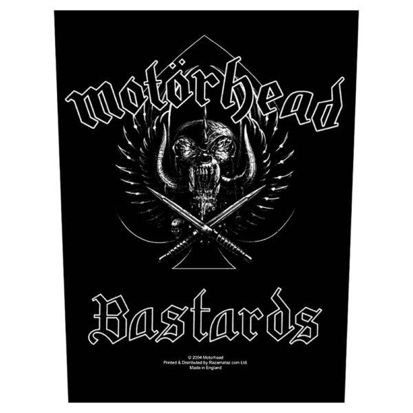 Motörhead - Ryggmärke - Bastards