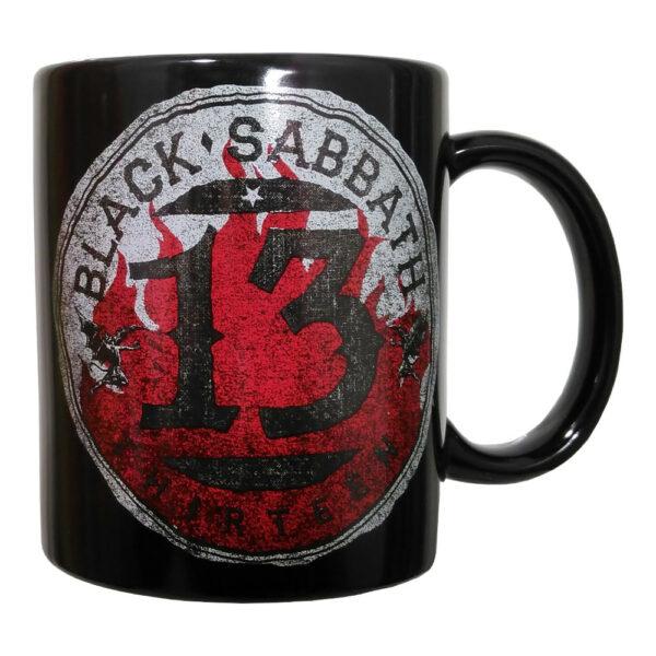 Black Sabbath - Mugg - 13 Flame Circle