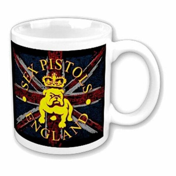 Sex Pistols - Mugg - Bull Dog & Flag