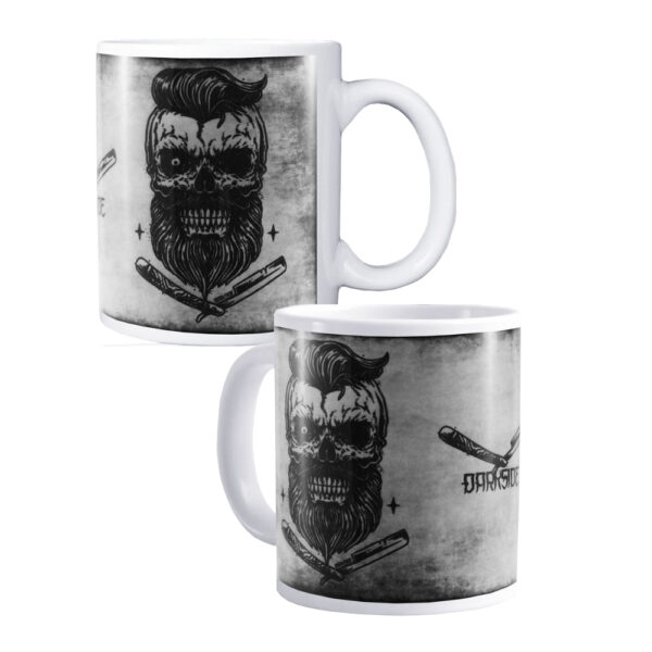 Darkside - Mugg - Bearded Skull