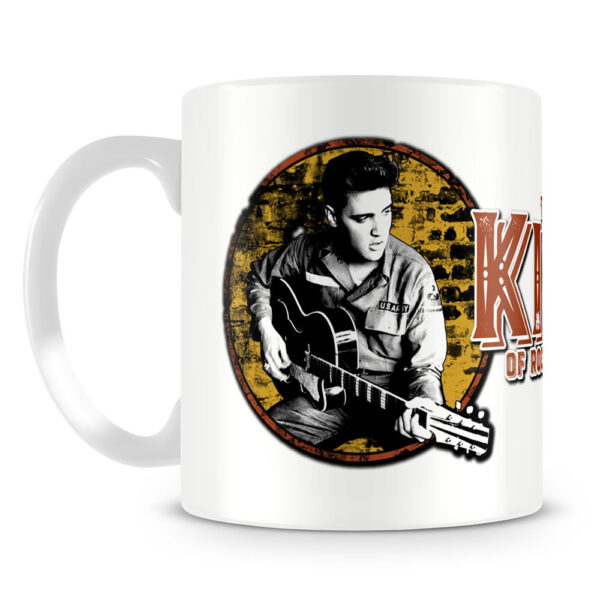 Elvis Presley - Mugg - King Of Rock 'n Roll