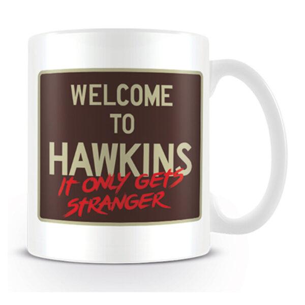 Stranger Things - Mugg - Welcome To Hawkins