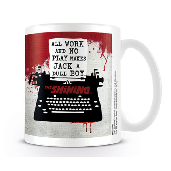 The Shining - Mugg - Typewriter