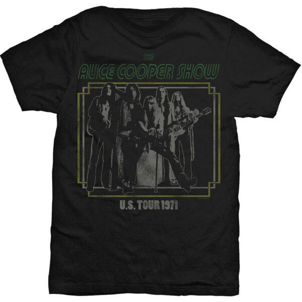 Alice Cooper - T-shirt - US Tour 1971