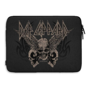 "Def Leppard - Laptopfodral 15"" - Flying Skulls"