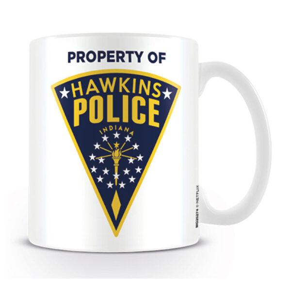 Stranger Things - Mugg - Hawkins Police Badge