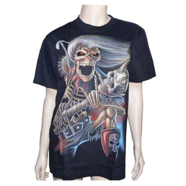 """T-Shirt """"Dödskalle"""" (Hero Buff)"""