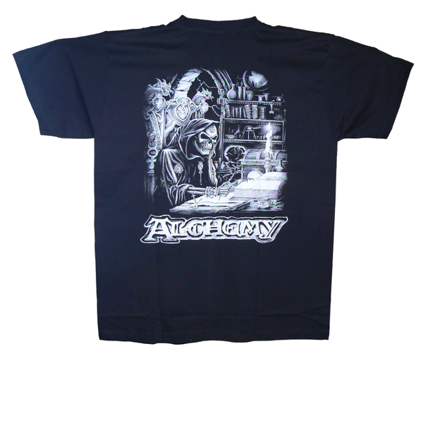 T-Shirt - Dödskalle - Alchemy