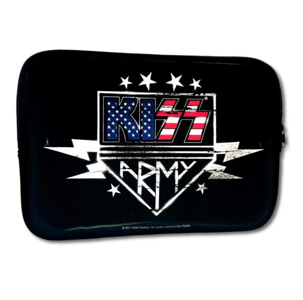 "Kiss - Laptopfodral 13"" - Kiss Army"