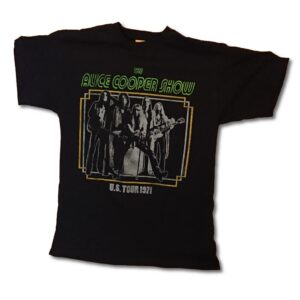 Alice Cooper - T-shirt - US Tour 1971