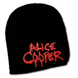 Alice Cooper - Mössa / Beanie - 3D broderad dripping logo