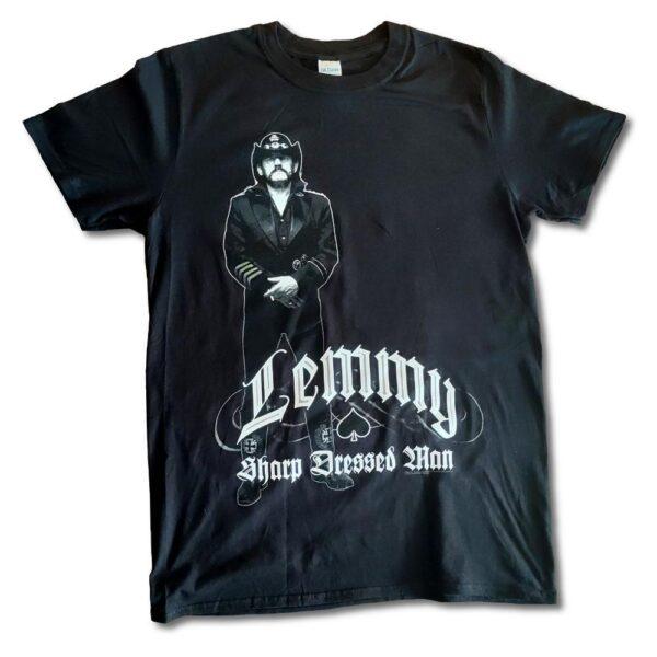 Lemmy - T-shirt - Sharp Dressed Man