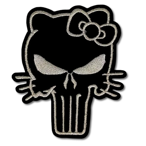 Tygmärke - Hello Kitty Punisher