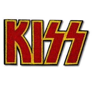 Kiss - Tygmärke - Logo