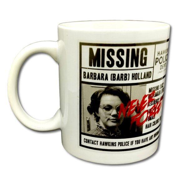 Stranger Things - Mugg - Missing Barb