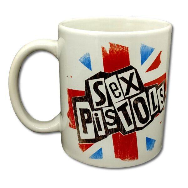 Sex Pistols - Mugg - Logo & Flag