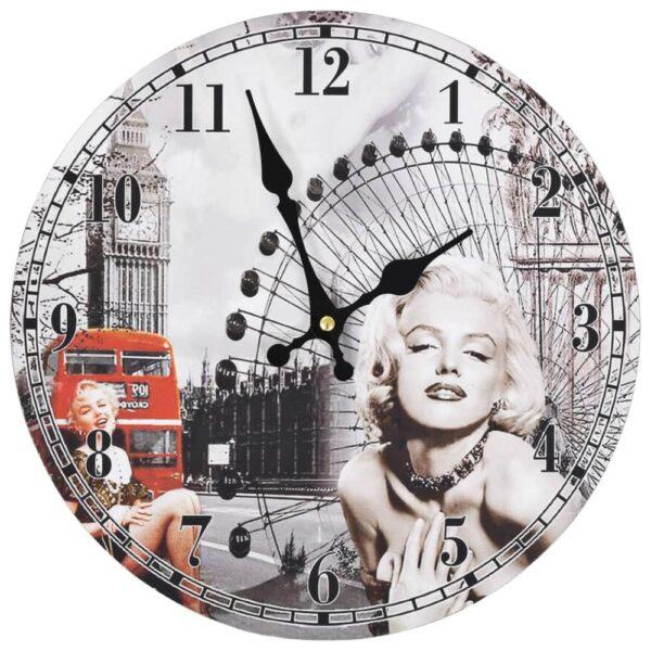 Marilyn Monroe - Väggklocka - Vintage