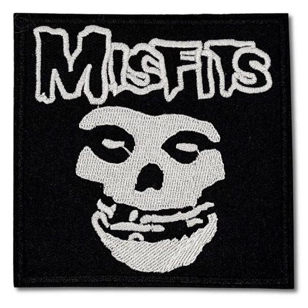 Misfits - Tygmärke - Skull